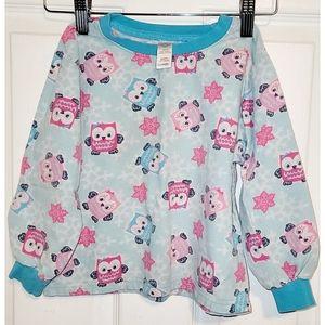 🌸3/10$ Long Sleeve Shirt and Pants Owl PJs